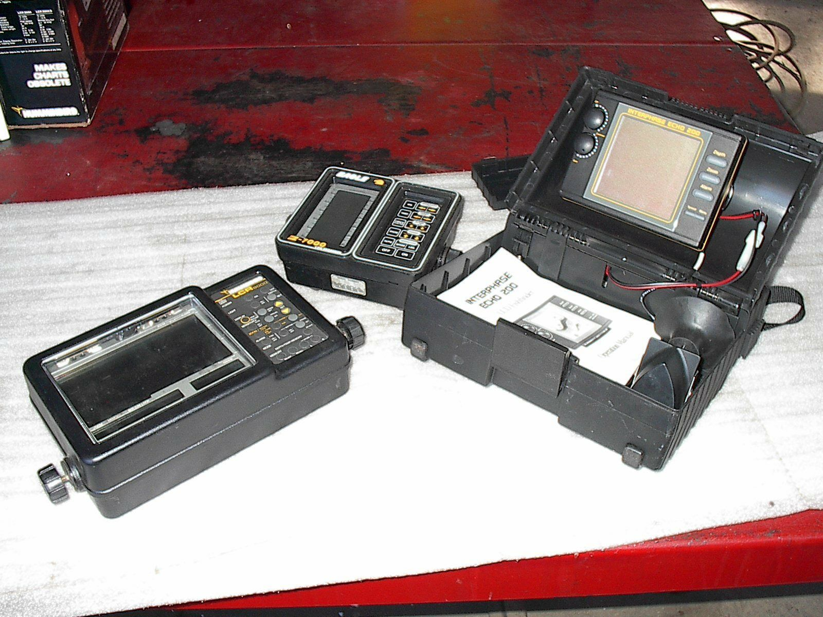 Interphase Humminbird Eagle Fish Finder Recorder