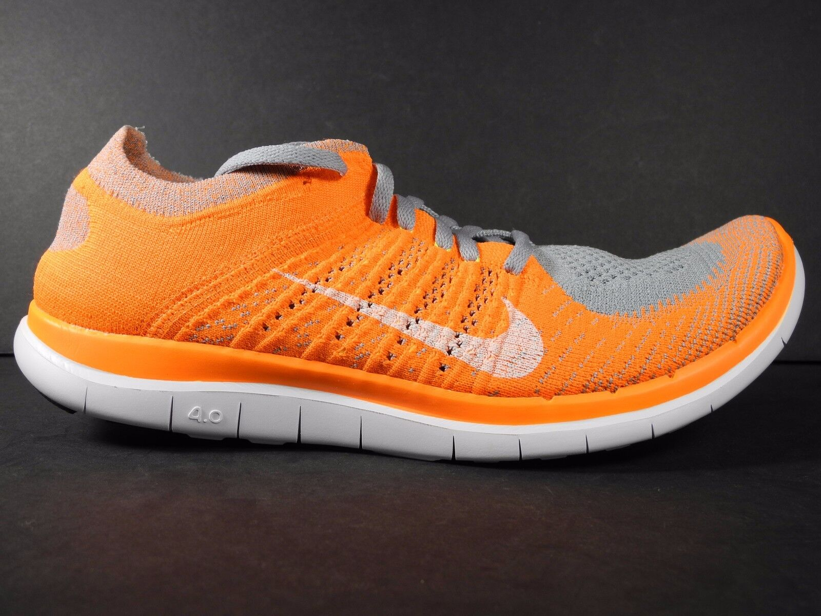 7d96b5293411e NEW NIKE FREE 4.0 FLYKNIT Men s Running Shoes Size US 10.5 new ...