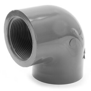Image is loading ABS-Elbow-90-Degree-Threaded-x-Plain-3-  sc 1 st  eBay & ABS Elbow 90 Degree Threaded x Plain 3/4