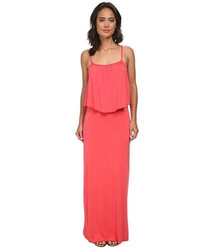 Culture Phit Women/'s Monicah Maxi Dress Coral Dress  Sz LG