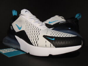 Details about NIKE AIR MAX 270 BLACK WHITE DUSTY CACTUS BLUE 1 90 OG ATMOS AH8050 001 11.5