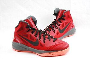 fc2d4eb3e38f Nike Hyperdunk 2014 654252 GS Youth Big Kids red Athletic Basketball ...