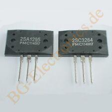 5 x 2SC2690 /& 2SA1220 10 komplementäre Transistoren 1.2W 120V 1,2A   TO-126  ...