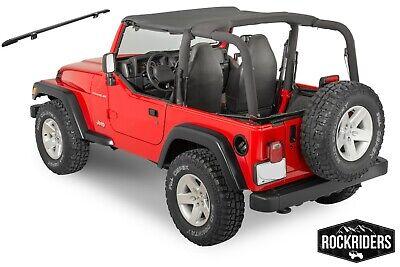 Black DIAMOND Bikini Top NEW  93335 97-06 FOR Jeep Wrangler /& Unlimited TJ LJ