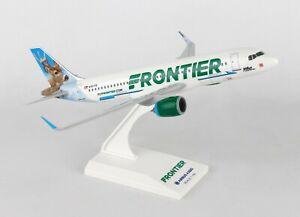 SKYMARKS-SKR907-FRONTIER-A320-034-WILBUR-034-1-150-SCALE-PLASTIC-SNAPFIT-MODEL