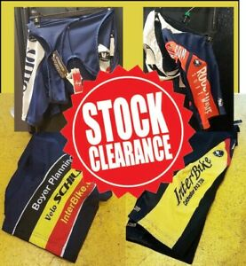 CLEARANCE-NEW-Schils-Vermarc-Sport-Pro-Cycling-Bib-Shorts-Shorts-UK-STOCK