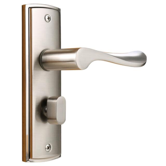 Arc Handle Alloy Mortice Door Knob Leverset Closet Lockset Single Cylinder  Lock