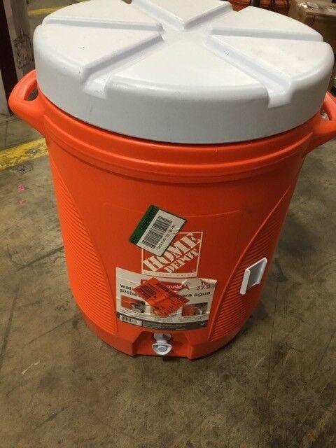 Water Cooler Beverage Jug Home Depot Brand Cup Dispenser Portable Drink Outdoor Cooking Eating 5 Gal Fibsol Com
