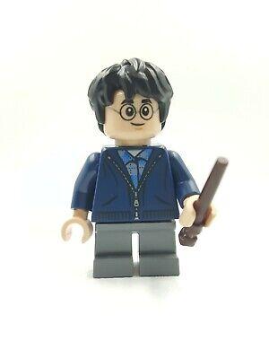 Toys & Hobbies Humorous Lego Minifigura Harry Potter Azul Oscuro Con Cremallera Varita Aragog Hogwarts Careful Calculation And Strict Budgeting Educational