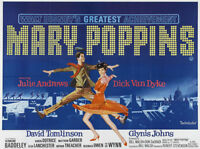 Mary Poppins Movie Poster Replica 11x14 Photo Print