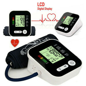Digital-Auto-LCD-Upper-Arm-Blood-Pressure-pulse-Monitor-Home-Test-Device