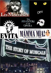 THE STORY OF MUSICALS - 3 HOUR/PART BBC DOCUMENTARY DVD ...
