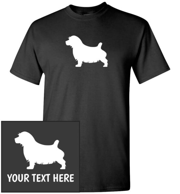 T-Shirt NOVELTY PUG SILHOUETTE Mens or Lady Fit T Shirt
