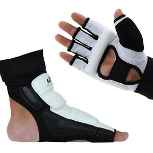 Taekwondo-Sparring-Protective-Gear-Fight-Gloves-Hand-Foot-Ankle-Protection