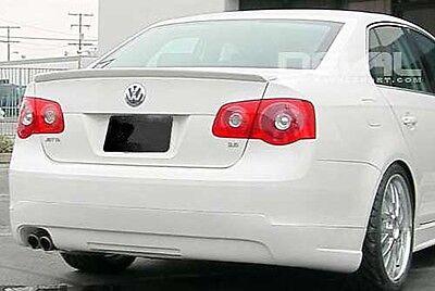 VW Jetta MK5 5 Sedan Rear Euro Trunk Boot Spoiler Lip Wing Sport Trim Lid R Line