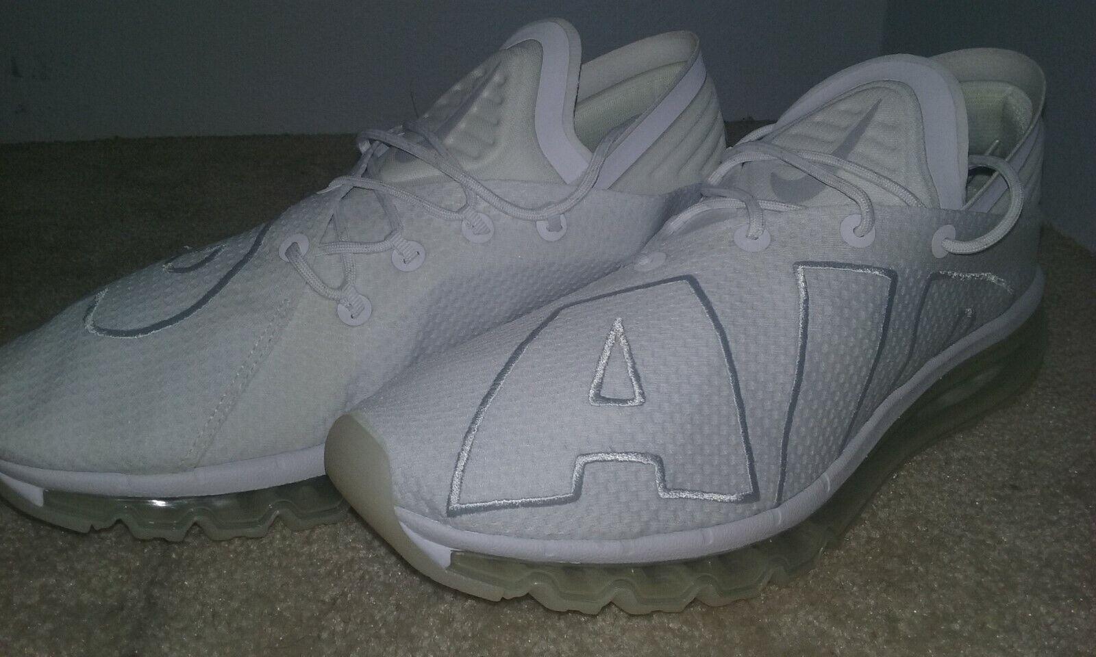 Nike Air Max Flair Running shoes Men's White\Pure Platimum size 13