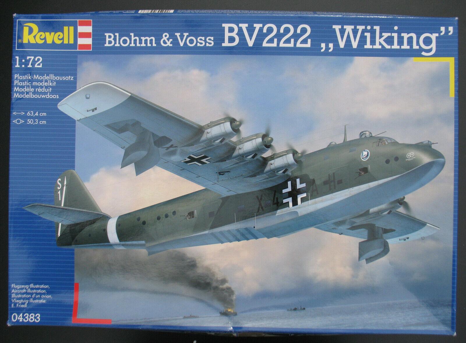 REVELL 04383 - Blohm & & & Voss BV222  Wiking  - 1 72 - Flugzeug Bausatz Model Kit    Großhandel  22a554