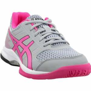 ASICS-Gel-Rocket-8-Casual-Volleyball-Shoes-Pink-Womens
