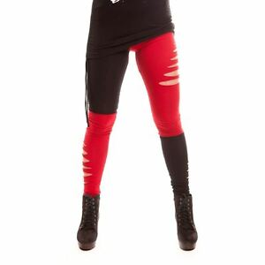 Heartless-Jester-Legging-Ladies-Red-Black-Fancy-Dress-Harley-Quinn-Cosplay