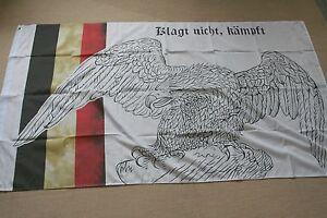 Fahne Flagge Kaiserreich mit Adler im Hochformat verschiedene Größen