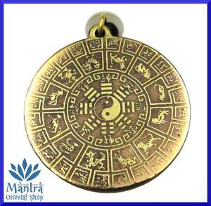 Vita E Salute Calendario Lunare.Dettagli Su Amuleto Talismano Calendario Lunare Cinese Felicita Nuova Vita Rinascita