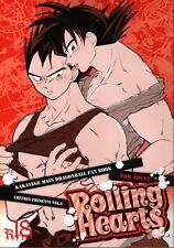 Dragon Ball Dragonball Z YAOI Doujinshi Comic Goku x Vegeta Rolling Hearts