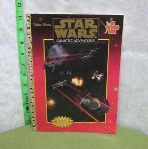 STAR WARS coloring book Galactic Adventures 1997 Lando ...