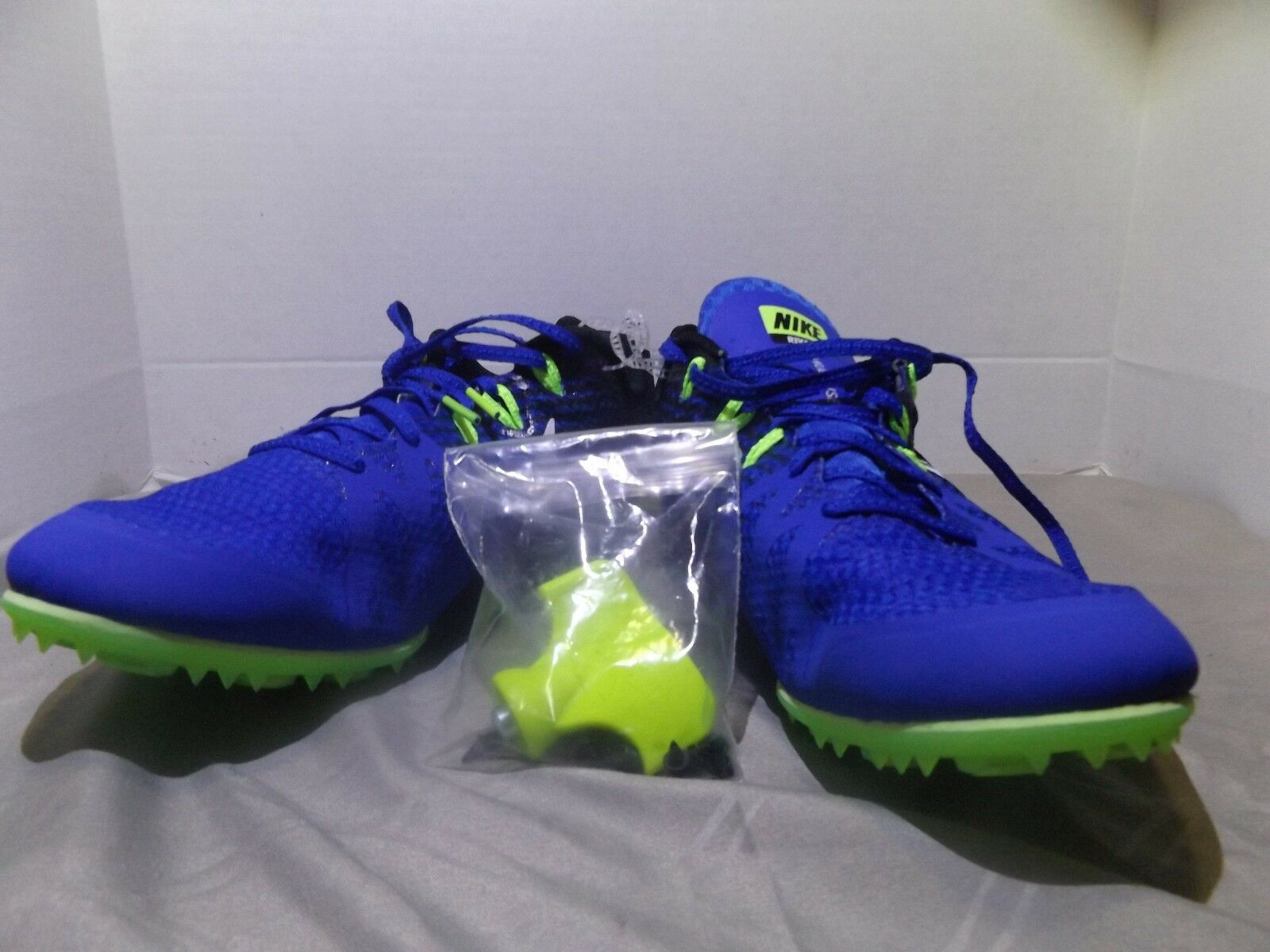 Nike Zoom Rival M  Men's Track Field Sprint Spikes Shoes 806555 413 Comfortable