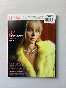 JFW MAGAZINE 2003 Jennifer Aniston Jewels, Fashion, Watches Harry Winston