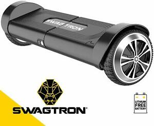 Swagtron T8 Hoverboard Self-Balancing Scooter Lithium-Free Battery Durable Body