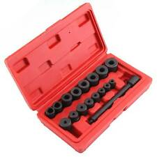 Clutch Alignment Clutch Alignment Tool Kit Universal 17 Pieces Clutch Centering Kit Clutch Centering Tool Clutch Alignment Tool Kit with Red Housing