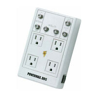 Panamax Powermax Surge Suppressor Power Protector 4 Outlet 6' Ft Cord Satellite