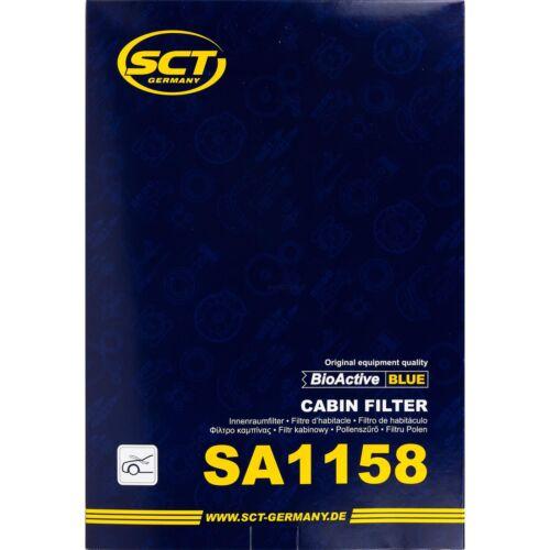 Original SCT Filter Innenraumluft Pollenfilter Innenraumfilter SA 1158