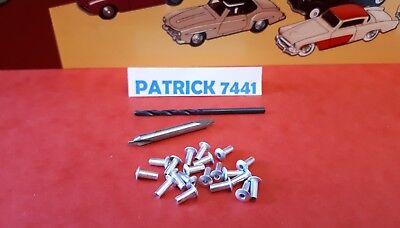 Lot de 20 rivets  Dinky Toys Corgi toys Cij JRD