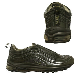 Details zu Nike Air Max 97 Mens Slip On Olive Bronze Low Top Trainers 609113 291 B36D