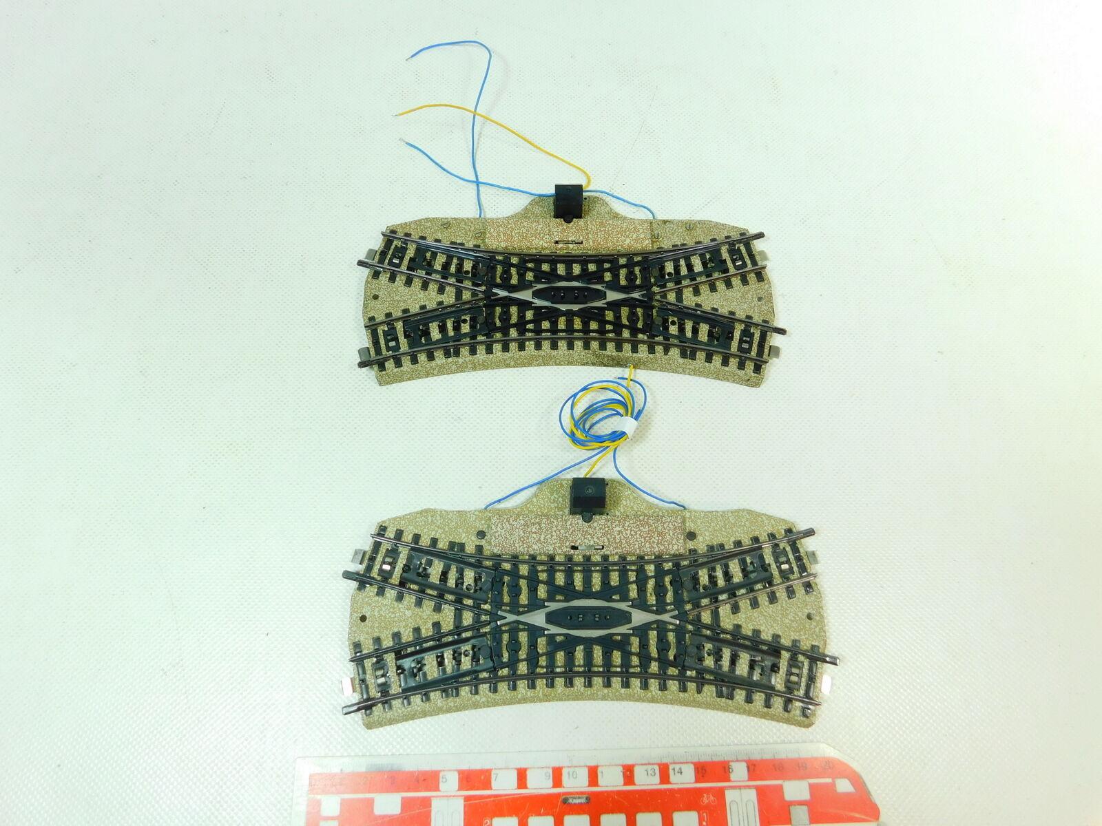 Bu54-1 x märklin h0 ac 5128 switch dkw route m tested