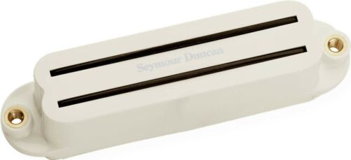 Parchment Seymour Duncan SHR-1n Hot Rails Humbucker Strat Neck//Middle Pickup 4C