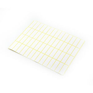 2800pcs Self-Adhesive Label Paper Name Classify Blank Stickers Stationery C#P5