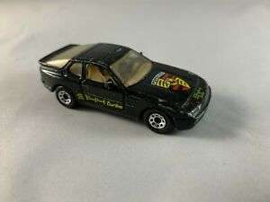 MATCHBOX-PORSCHE-944-Turbo-Nero-MACAN-da-Collezione-Diecast-Scala-1-64