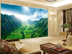 Detalles De Kaaawa Valle Oahu Hawaii Paisaje 3d Full Mural De Pared Foto Wallpaper Decoración Del Hogar Ver Título Original