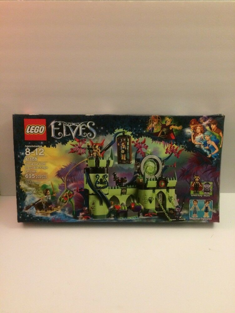 Lego Elfes Breakout from the Goblin King's Fortress 41188 Scellé