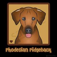 Rhodesian Ridgeback Cartoon T-shirt - Men Women Youth Tank, Short, Long Sleeve