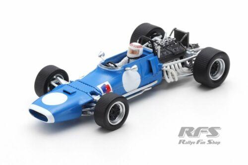 Matra MS11 12 Jackie Stewart Formel 1 Test Albi 1969 1:43 Spark 7195 NEU