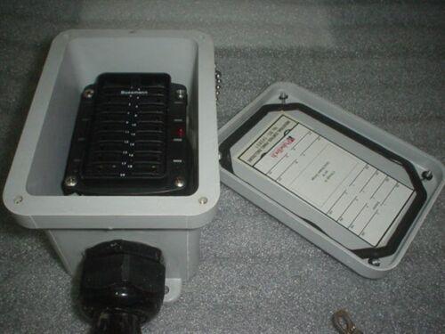 Pulse Tech 24V Distribution Panel for Military Truck Radio Light Bar /& Com