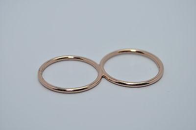 Size 6 JULES SMITH 14k Yellow Gold Plated Black Boyfriend Statement Ring