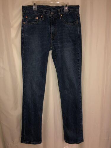 Fit Strauss Levi Distressed Jeans 32x32 511 Denim Slim Hommes qtqnOPdwx