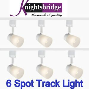 6 Spotlight Led Moderne Lampe G9 3 Metres Eclairage Lumiere Blanche