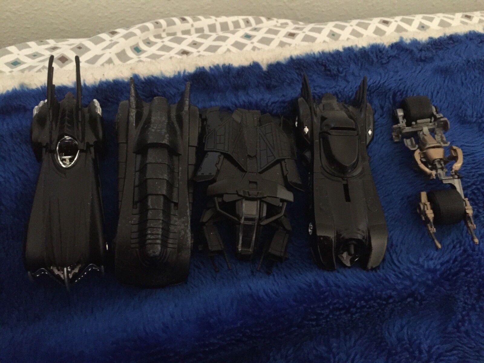 Hot Wheels Batman Batmobile 1 50 Scale Scale Scale Lot Of 5 Loose c2bd3c