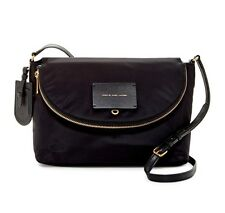 Marc by Marc Jacobs Crossbody Natasha Nylon Shoulder Bag Black New