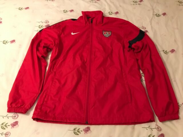 62e00b905 Women s Nike USA National Team Soccer Training Jacket Olympics Red  522293-604
